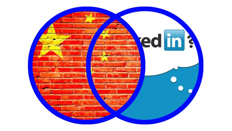 מיקרוסופט סוגרת את לינקדאין בסין.