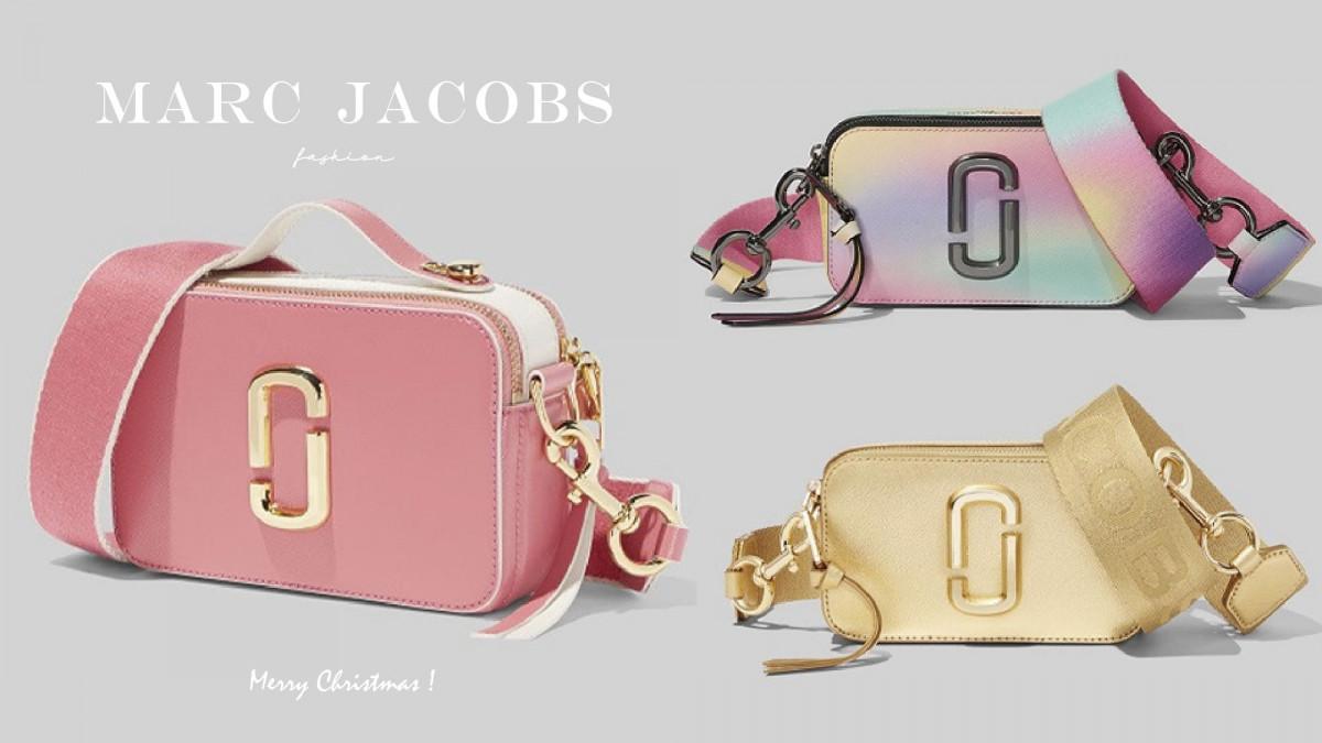 Marc Jacobs相機包升級為「單眼相機包」,2019聖誕新色獨角獸色,金色超美! - BEAUTY美人圈