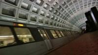 ARLINGTON  FEB. 5: Metro Train Arrives At Arlington Court ...