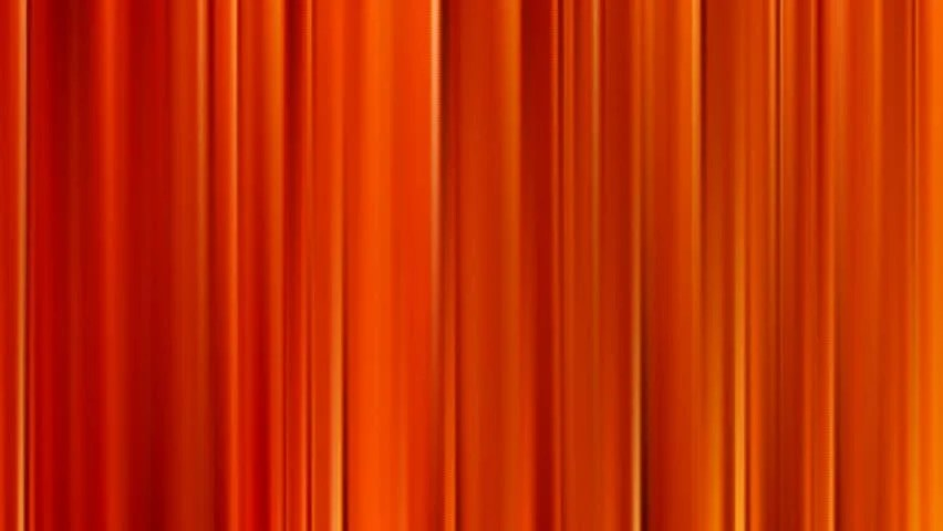 A Slowly Shimmering Orange Curtain Stock Footage Video