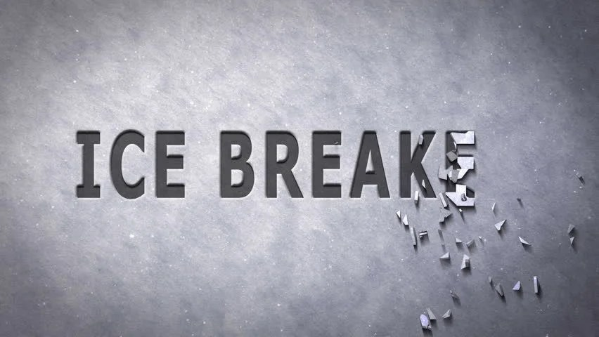 Ice Breaker Shatter Text Animated On White Snow Background. For Business And Team Building Concepts. Stock Footage Video 2858689 - Shutterstock