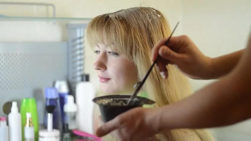 Hair Dye Stock Footage Video - Shutterstock
