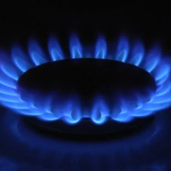 Natural Gas Kitchen Stove Low Cost Cabinets Flame Stock Footage Video 353563 - Shutterstock