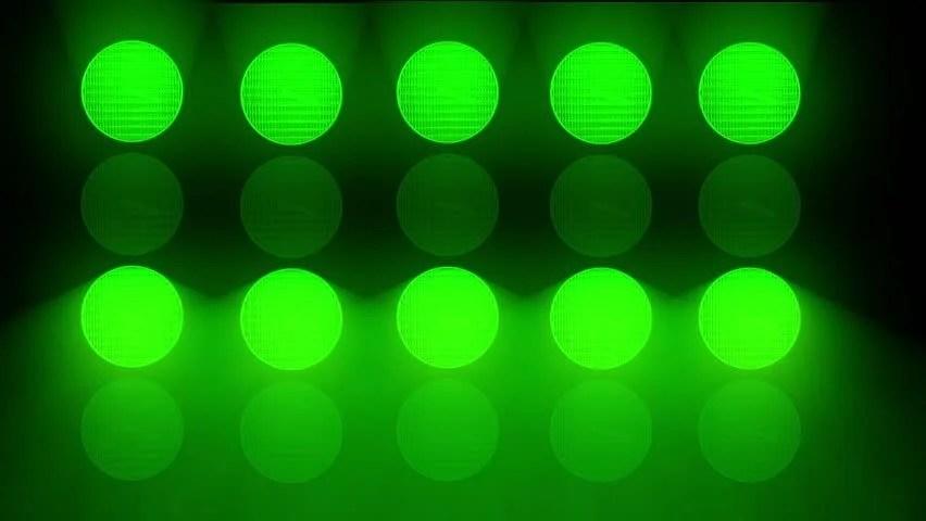 Flashing Green Light Clip Art