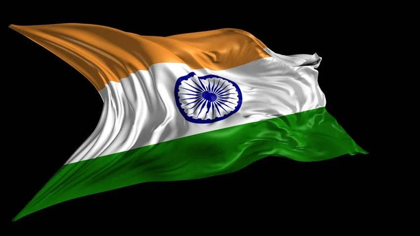 Indian Flag Animation Wallpaper Flag Of India Beautiful 3d Animation Of India Flag With