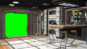 spaceship screen background scifi bedroom footage shutterstock