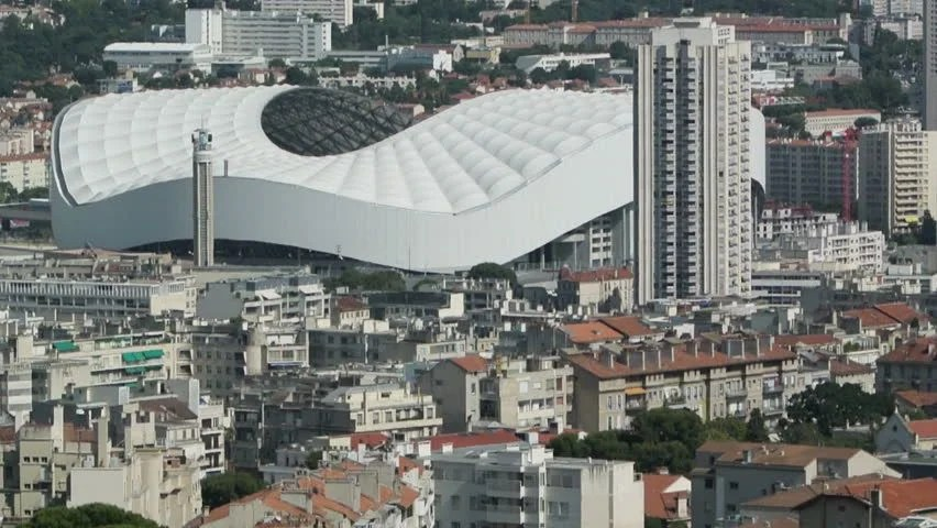 MARSEILLE, FRANCE - CIRCA AUGUST, 2014: Aerial Of The Stade Velodrome The Multi-purpose Stadium In Marseille, France. It Is Home To The Olympique ...