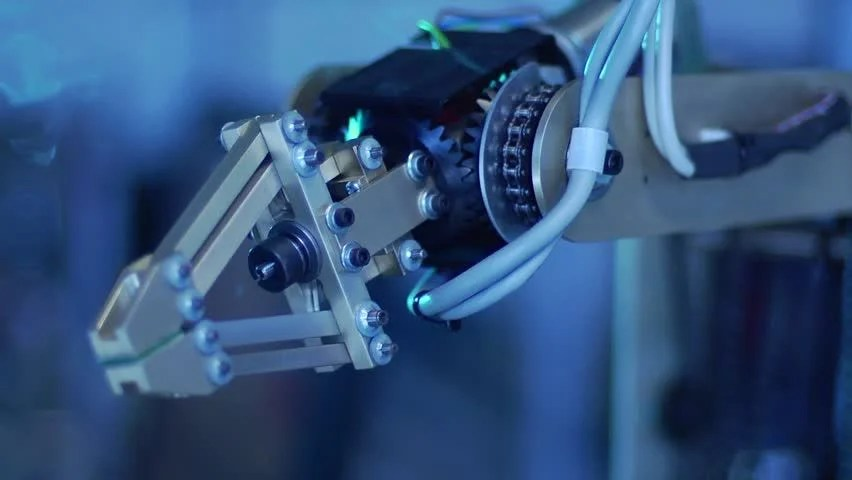 Robotic Arm With Gears - Speed Ramp Stock Footage Video 3165460 - Shutterstock