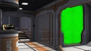 screen spaceship background bedroom scifi footage shutterstock