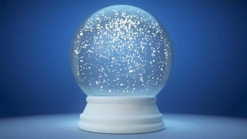 Backgrounds Animated Christmas Snow Globes