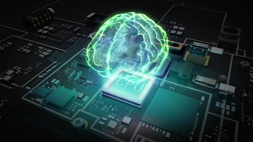 Best 3d Hologram Wallpaper Brain Connect Digital Lines Expanding Artificial