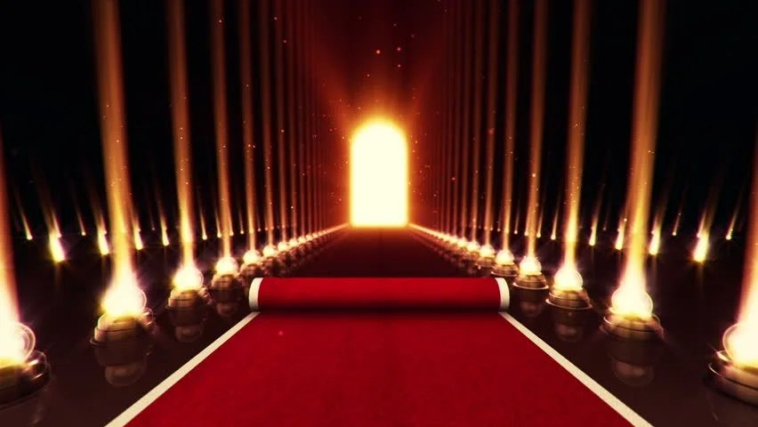 What Is Falling Action Of The Yellow Wallpaper Red Carpet Entrance With The Stanchions And The Ropes Red
