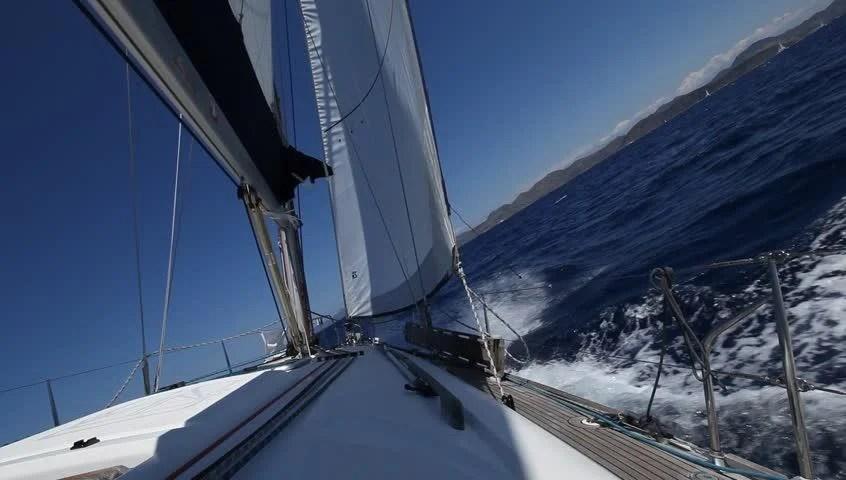 Tall Ship Caribbean Sunrise