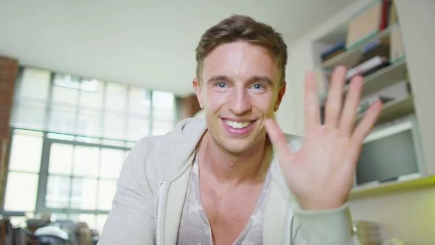 Happy Attractive Young Man Having A Video Chat,一系列(的事物), 246 Following,網路新訊等相關應用, Vietnam | VietnamCupid.com