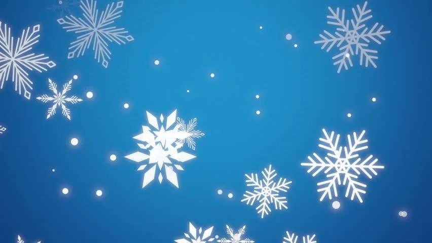 Falling Stars Gif Wallpaper Animated Snowflakes Festive Seasonal Background Stock