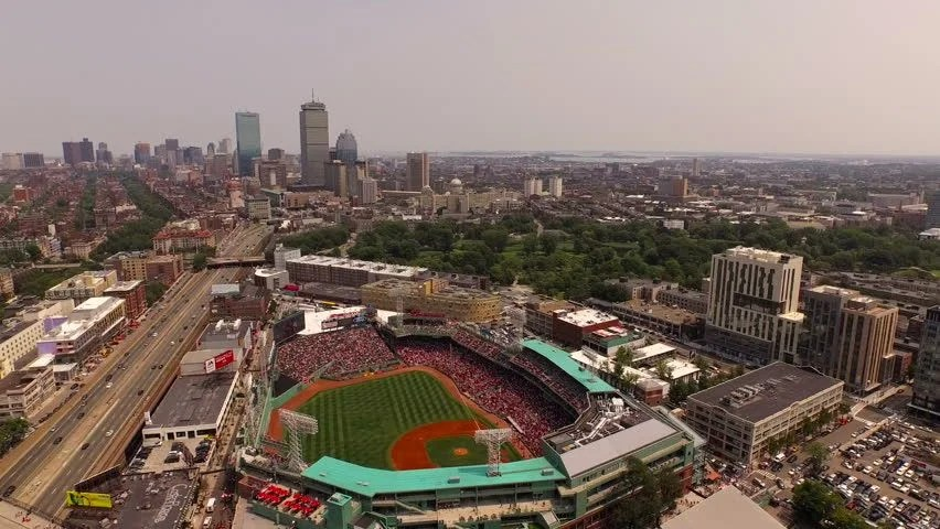 Image result for aerial view of fenway park