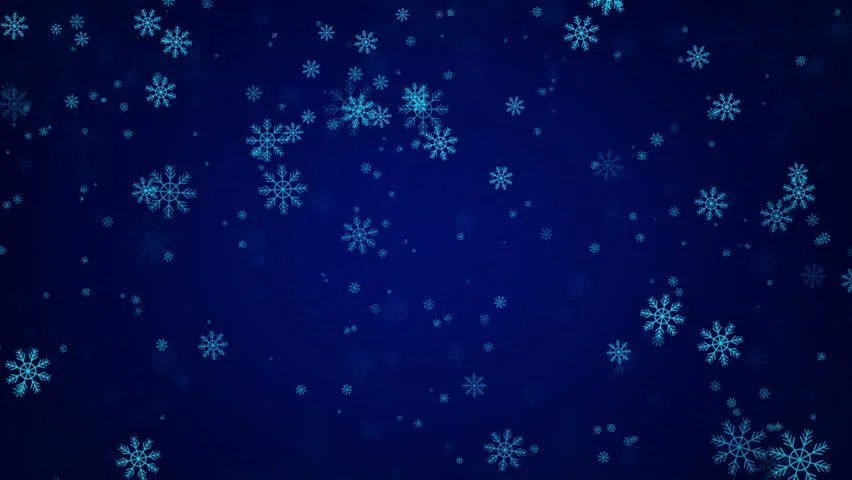 Beautiful Snow Falling Wallpapers Snowflakes And Stars New Year S The Christmas