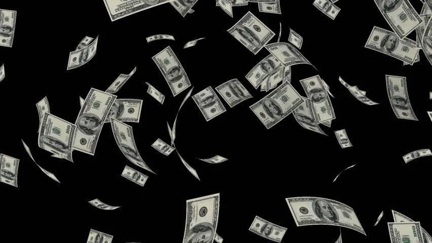 Falling Money 3d Wallpaper Money Explosion 100 Indian Rupee 05 Alpha Channel