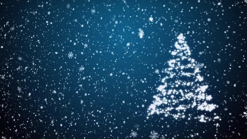 Animated Snow Falling Wallpaper Free Download Hd Snowflakes Particles Background Animation Stock