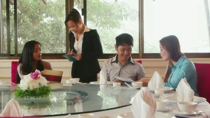 Image result for asian food server