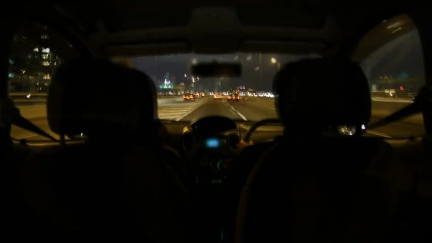 Girl And Boy Sitting Together Wallpaper Drunk Driving City Night Driving Timelapse Couple In Car