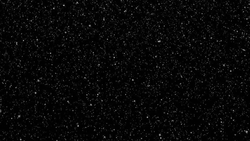 Wallpaper Falling Skies Gently Falling Snow Video Background Loop Black Bg