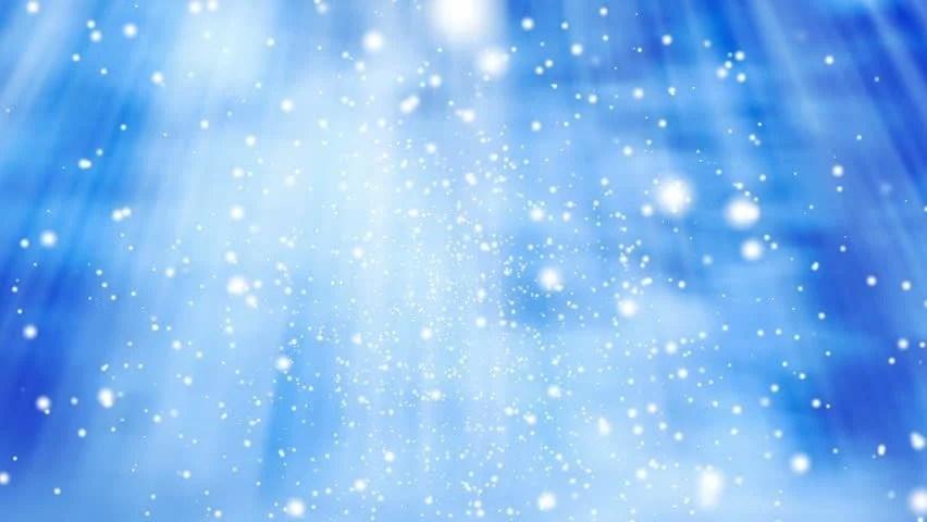 Snow Falling Gif Wallpaper White Glitter Background Seamless Loop Winter Theme