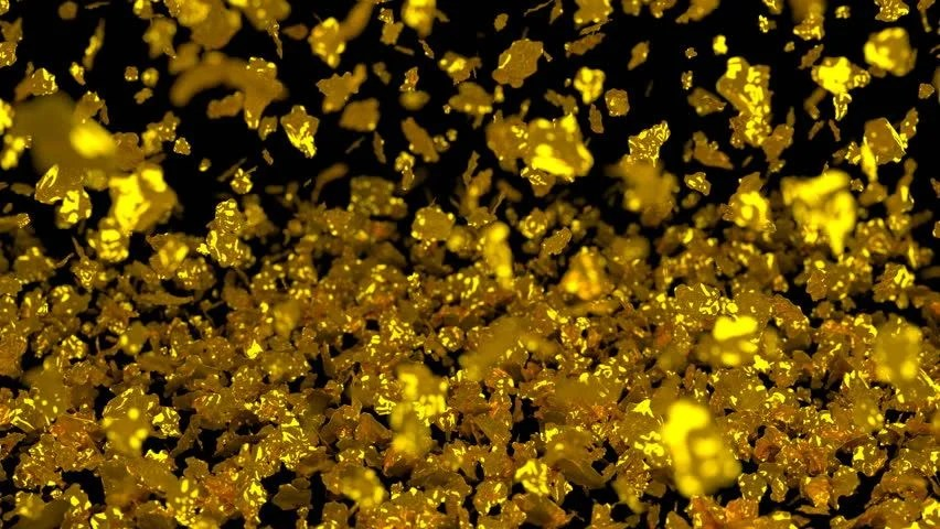 Rose Petals Falling Wallpaper Animated Falling And Stocking Realistic Gold Flakes