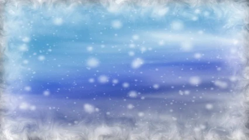 HD Loop Winter WonderlandSubtly Moving Background Of