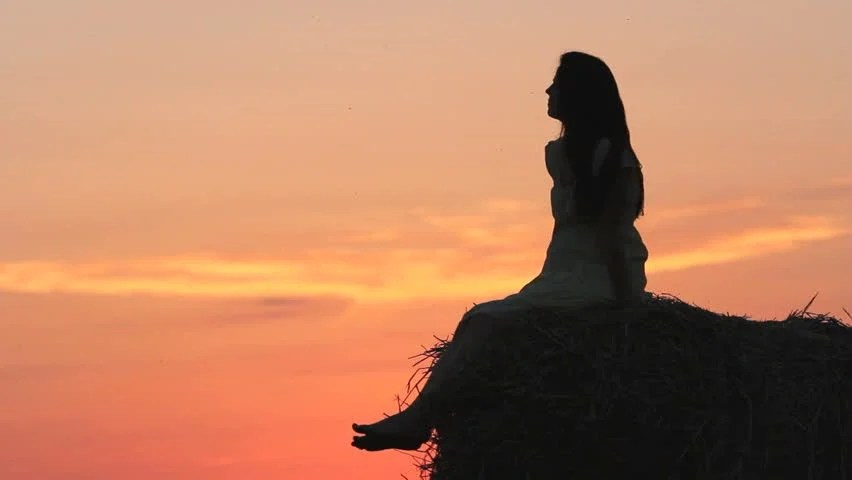 Image result for girl woman beautiful sunset