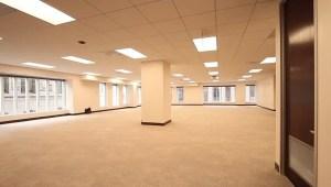 empty office space cubicle dark windows footage 4k pillar shutterstock future outside clips