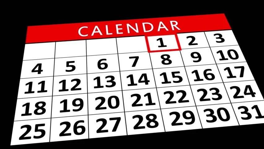 Animation Of Calendar Flipping | Calendar Desktop Google Sync