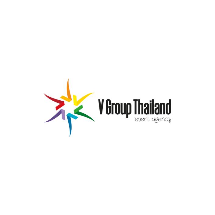 VGROUPTHAILAND event agency logo design
