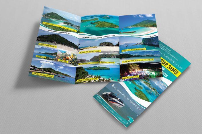 Lucky Star leaflet design