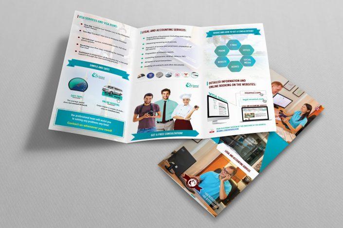 My Samui leaflet design