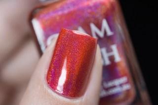 Glam Polish_No Lei-Overs!_Hibiscus hideway_02
