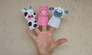 Marionette da dita fattoria