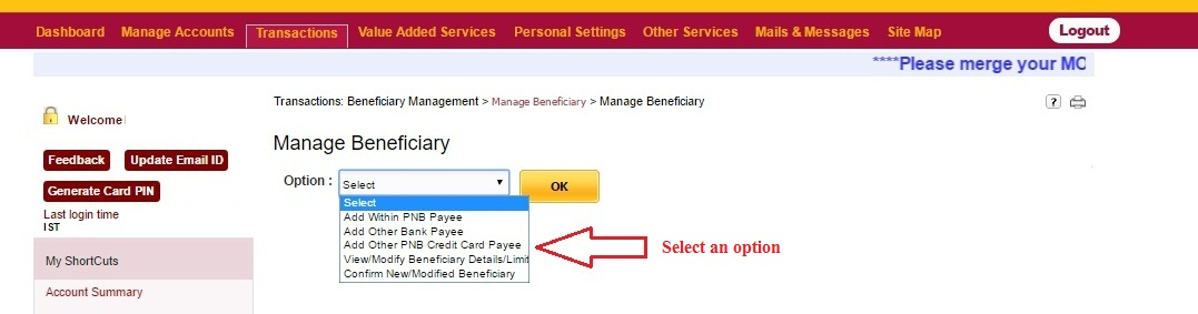 how to open account in pnb