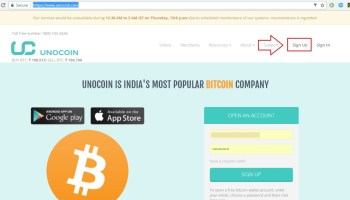 How to find unocoin wallet address to request bitcoin how to create unocoin bitcoin wallet account ccuart Images