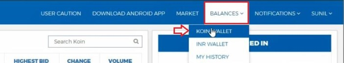 Withdraw Money From Koinex to Bank Account
