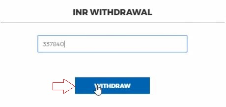 Withdraw Money From Koinex to Bank in INR