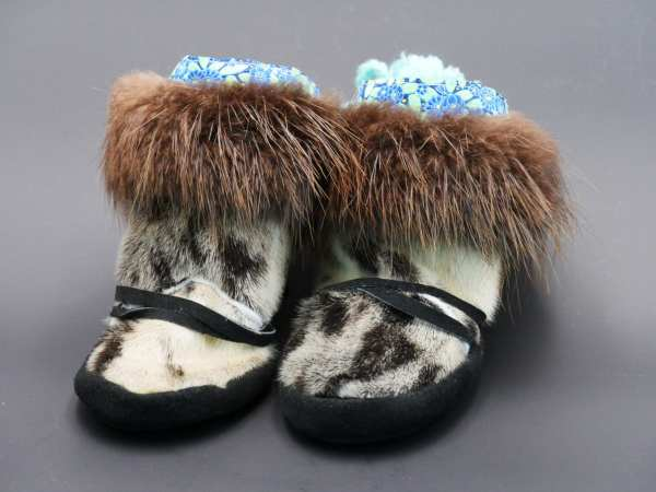 Beaver and Seal Baby Booties