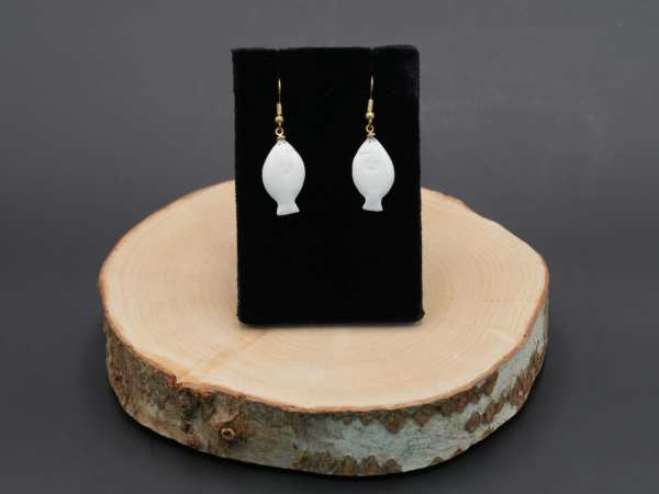 Ivory Halibut Earrings