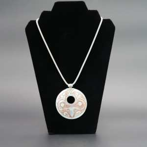 Mother of Pearl Eagle pendent