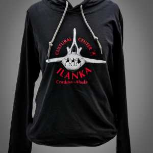 Black Ilanka Cultural Center Thin Hoodie
