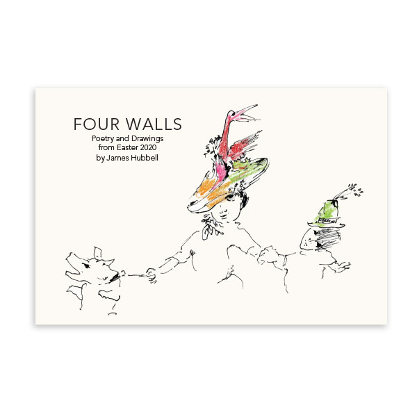 Four Walls: A James Hubbell Coloring Book of Poetry and