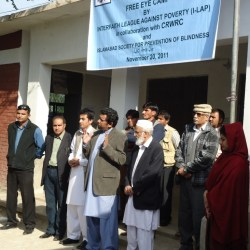 Free Eye Camp in District Nowshera KPK 2011