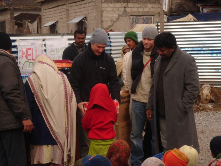 Tent, Shelters Distribution in Balakot 2005