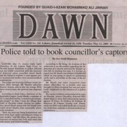 Police told to book councillor's Captors