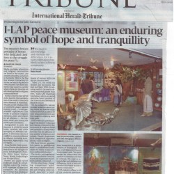 I-LAP peace museum: an enduring symbol of hope and tranquillity